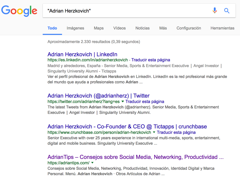 Adrian Herzkovich - Google - All